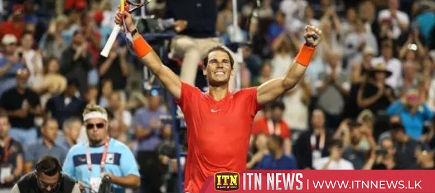 Nadal rallies past Cilic and into Toronto semis