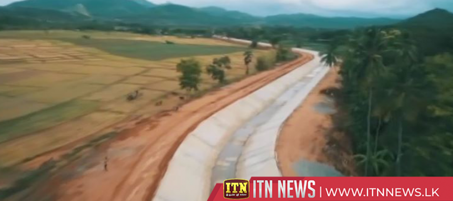 Second Stage of the Wayamba Canal that changes the irrigation history, begins