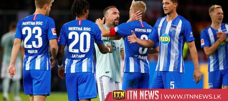 Hertha stun Bayern for first win in nine years