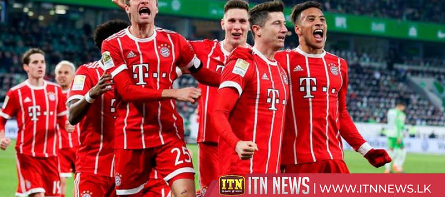 Bayern come from behind to beat Eintracht Frankfurt, Wolfsburg draw with Herta Berlin