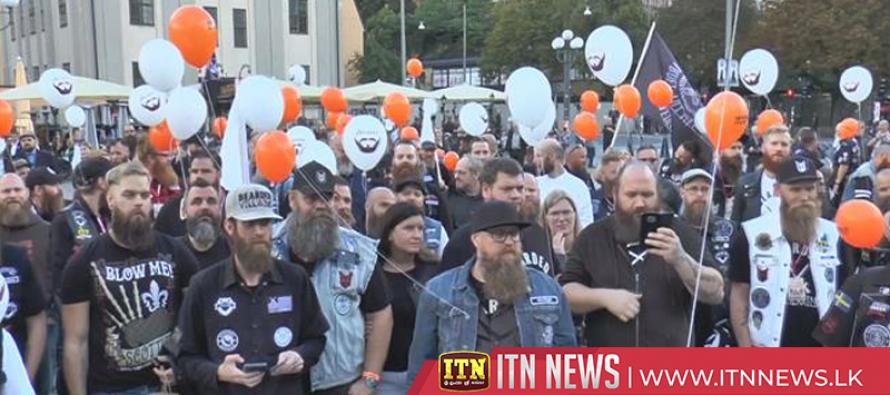 Hundreds attend Sweden's World Beard Day festival