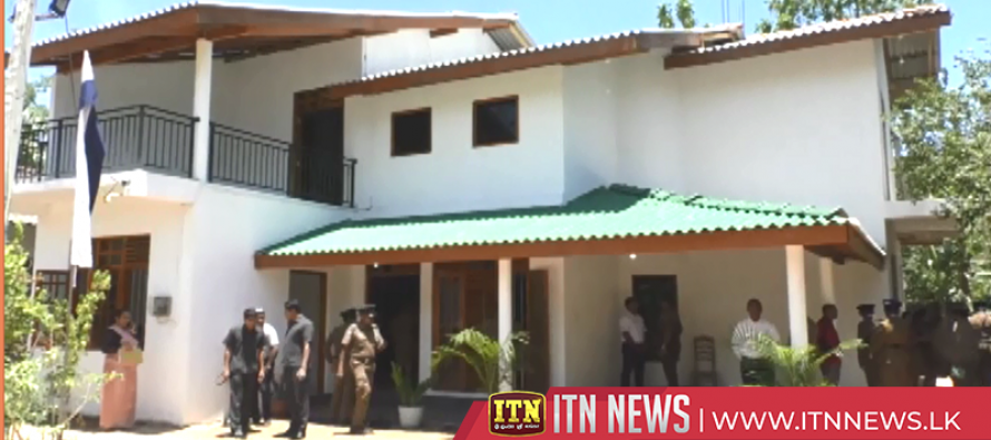 House of late police sergeant completed