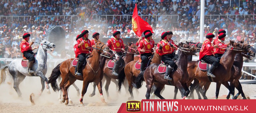 Kyrgyzstan stages third world nomad games