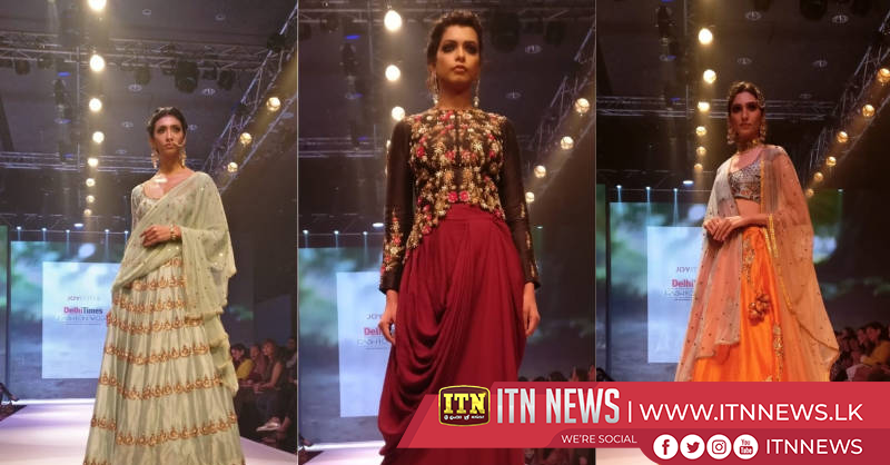 Muted tones reign on day two of fashion week in India