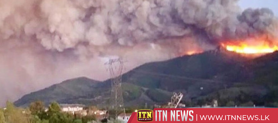 Hundreds evacuated, airport closed after forest fire in Italy