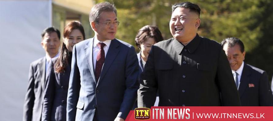"Korean leaders hail summit talks, pledge to create a ""new homeland"""