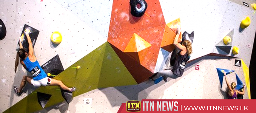 Kruder and Nonaka win Rockstars bouldering event in Stuttgart