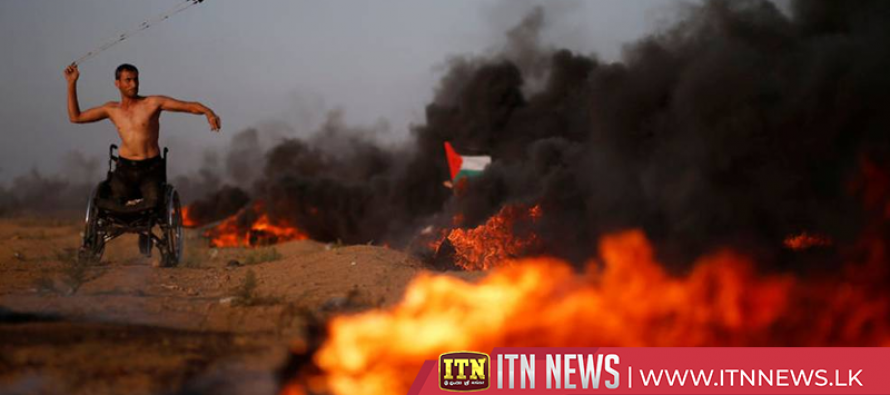 Palestinians say 6 killed as Israeli troops fire on Gaza protest