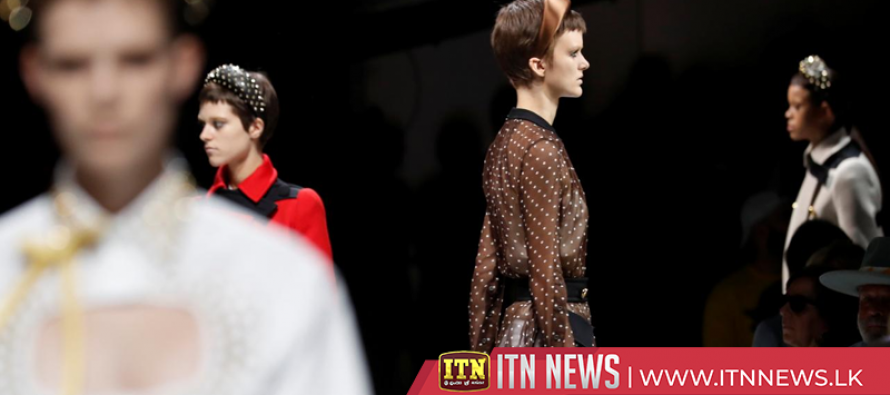 Prada plays with classic clothing cliches to create contemporary looks