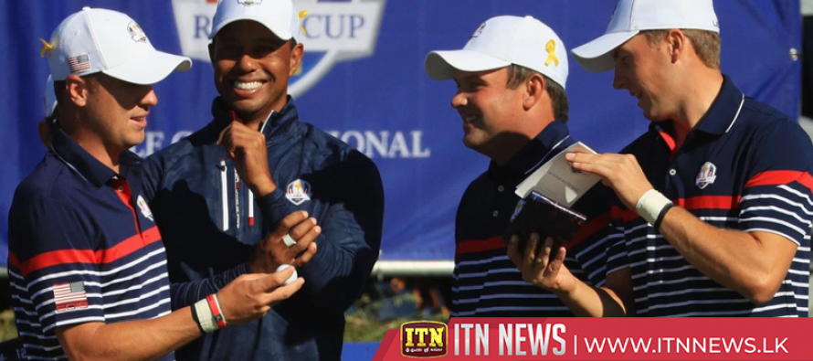 Team USA gets practice round in on eve of Ryder Cup start