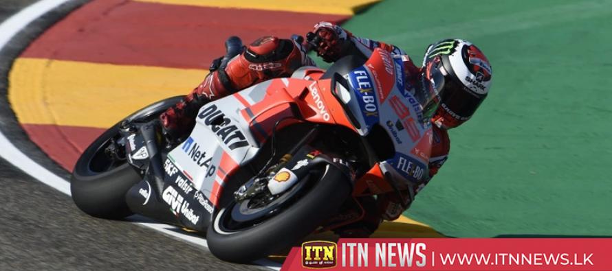 Lorenzo grabs pole position at Aragon
