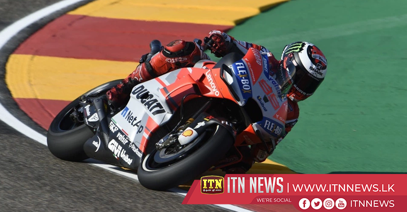 Lorenzo grabs pole position at Aragon