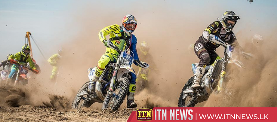 Wade Young wins two day motocross event held in Polish coal mine