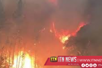 Fast moving California Delta fire forces evacuations
