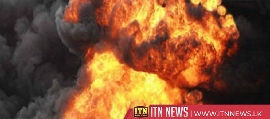Five injured in Ammonia gas explosion