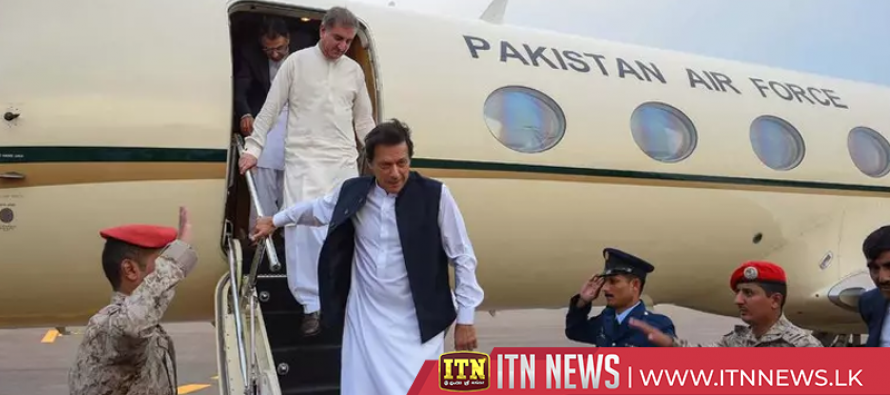 "Imran Khan arrives for Saudi conference saying Pakistan ""desperate"" for loans"