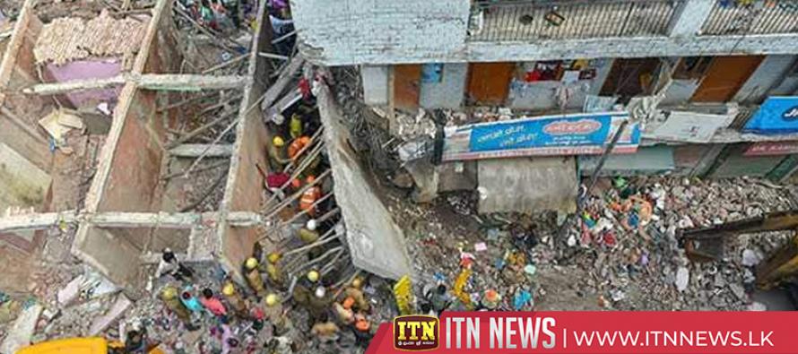 New Delhi building collapse kills five