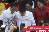 Indonesia presidential candidates draw numbers ahead of first campaign