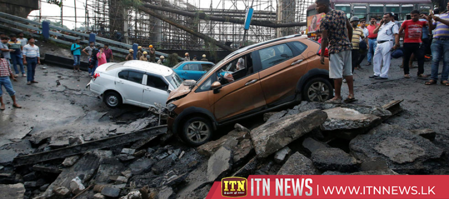 Rescue teams search rubble after flyover collapse in Kolkata