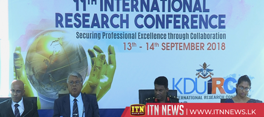 11th International Research Conference of Sir John Kotalawala Defence University begins
