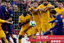 Lionel Messi has scored eight free-kicks in 2018