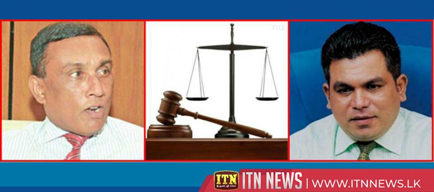 Palitha Fernando and Senadipathi are indicted