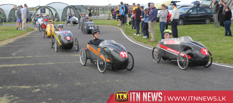 Foot to the floor at the British Pedal Car Championship