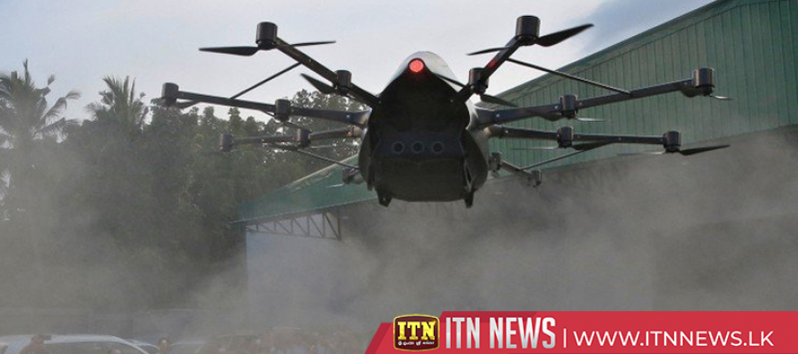 Philippine inventor aims to cut travel times with passenger drone