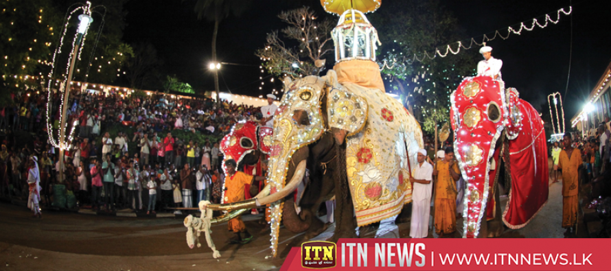 All arrangements in place for the final Perahera of the Sabaragamuwa Saman Devale