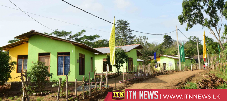 116th and 117th model villages opened in Vavuniya