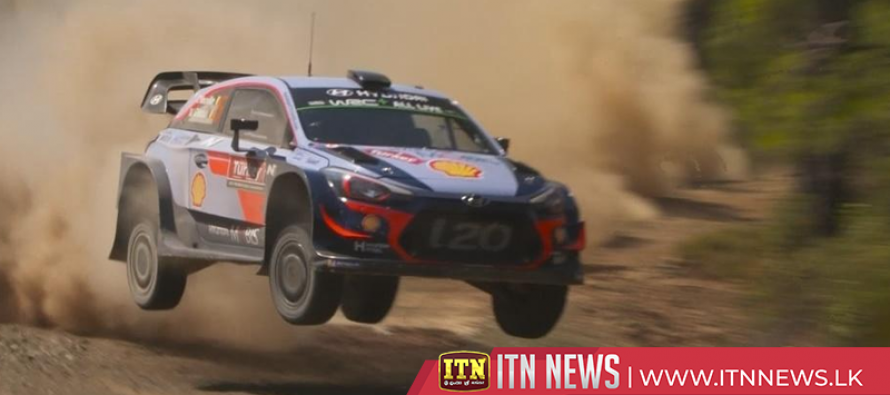 WRC leader Neuville in front after day one of Rally of Turkey