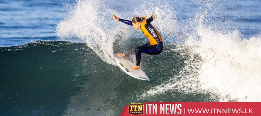 Gilmore narrowly misses chance to win world surfing title in France
