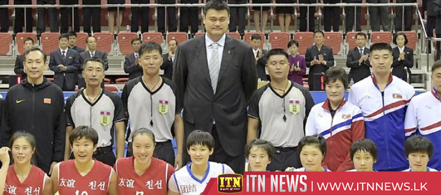 Chinese basketball team plays North Koreans in Pyongyang