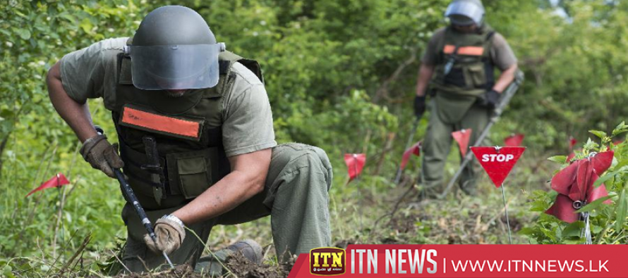 The US provides 600 million rupees for demining