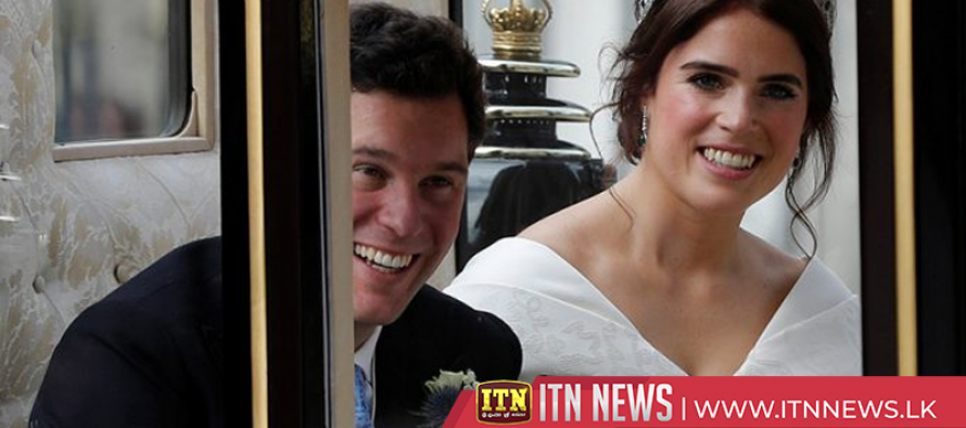Princess Eugenie marries in grand UK royal wedding