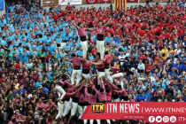 Human Tower Competition held in Spain