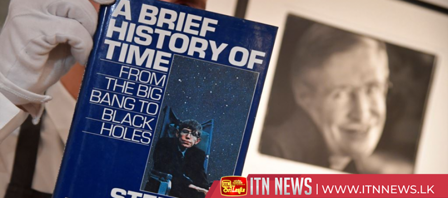 Stephen Hawking's thesis, wheelchair headed for auction