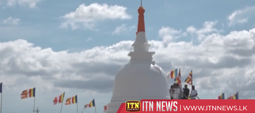 Newly constructed Stupa at LankaJi temple in Japan will be unveiled