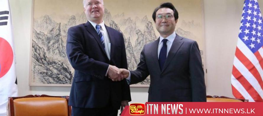 U.S. special representative on North Korea meets South Korean officials in Seoul