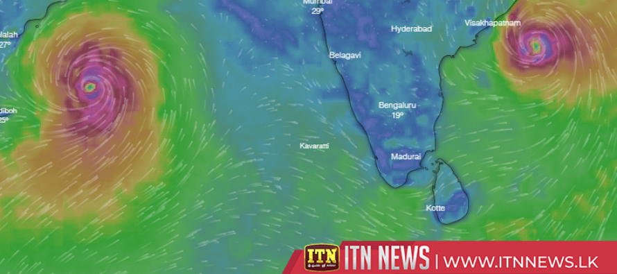 'TITLI' is 1,050 kilometers away from Trincomalee
