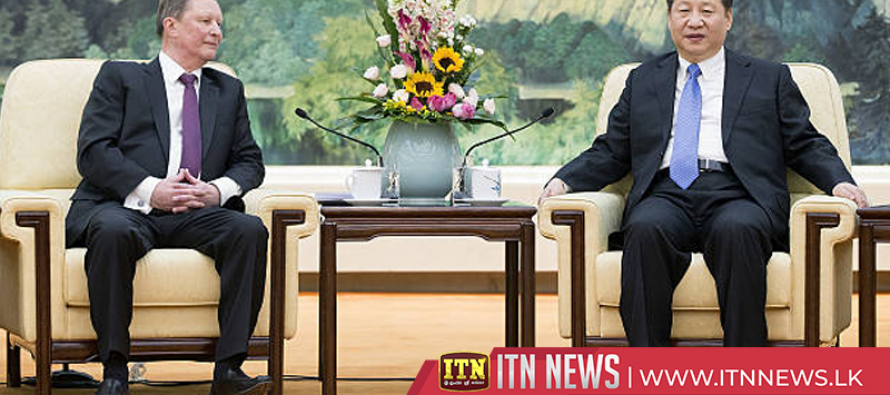 Xi meets Russian presidential administration chief