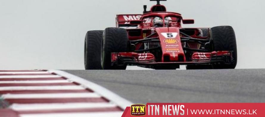 Lewis Hamilton fastest at USGP practice as Sebastian Vettel penalized