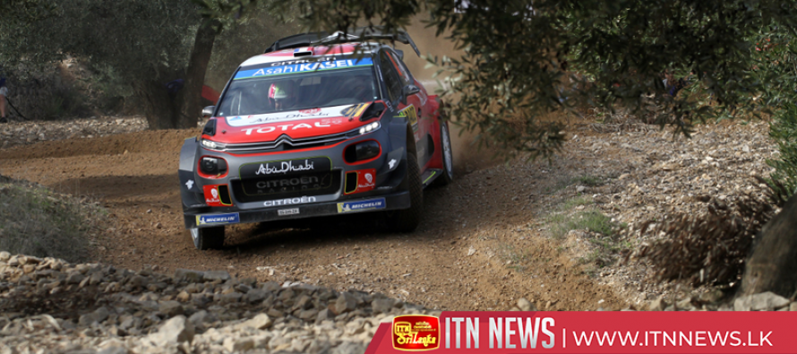 Latvala leads Ogier in Catalan rally, Neuville fifth