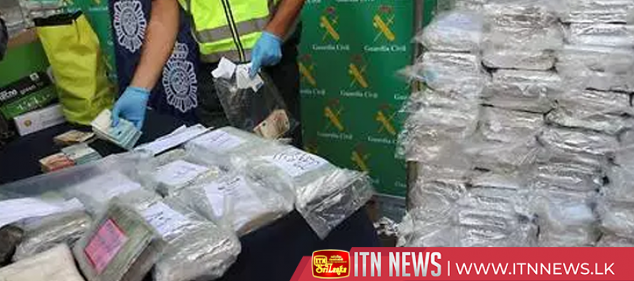 Spanish police seize six tons of cocaine hidden in banana cargo
