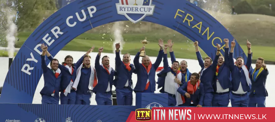 Europe regain Ryder Cup with dominant singles display