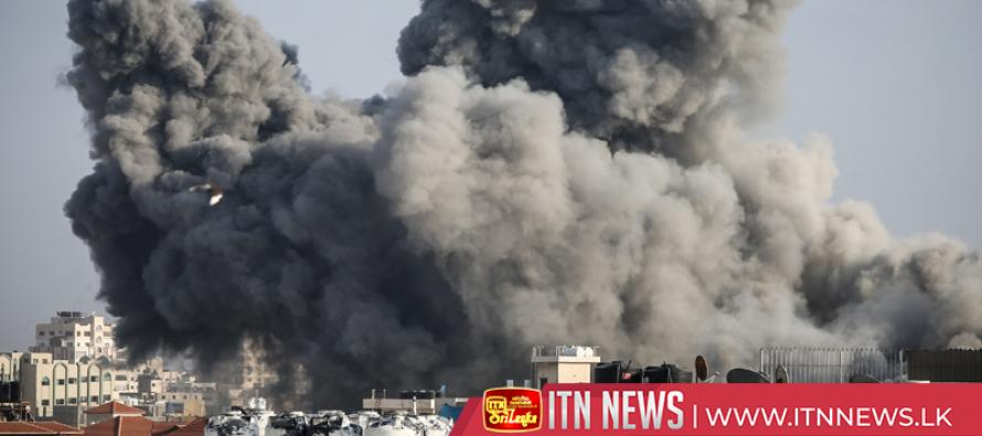 Explosions over Gaza as violence flares up across Israel-Gaza border