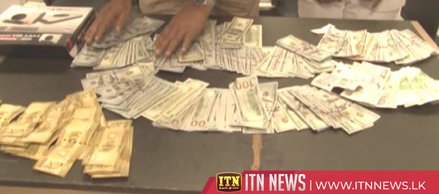 Air passenger nabbed with illegal foreign currency