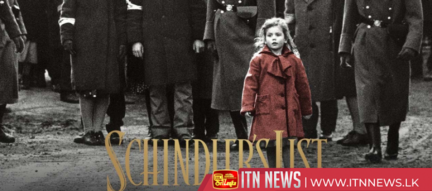 """Schindler's List"" will be released in next month for its 25th anniversary"