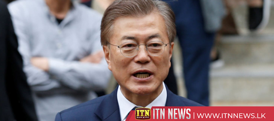 South Korean president says strong military will ensure peace