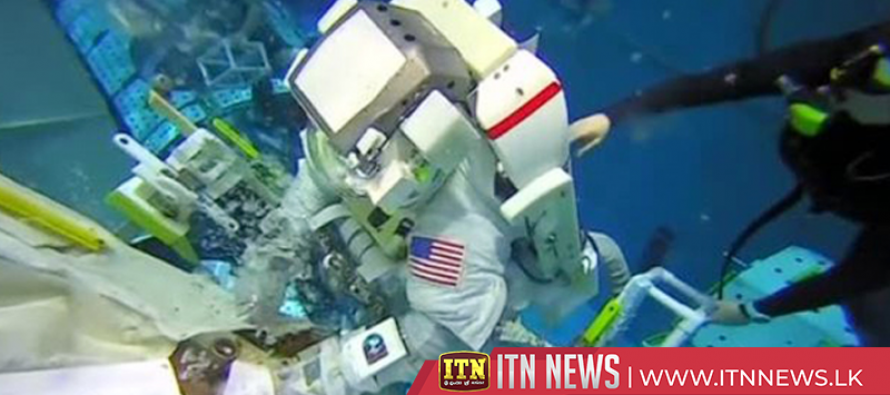 NASA astronaut Nick Hague prepares for the ride of a lifetime